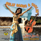 Belly Dance with Violin by Bassil Moubayyed - CD