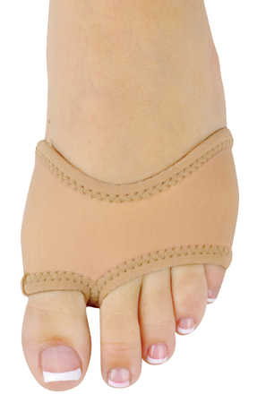 DANSHUZ Half-Shoe Neoprene Dance Shoes - LIGHT NUDE
