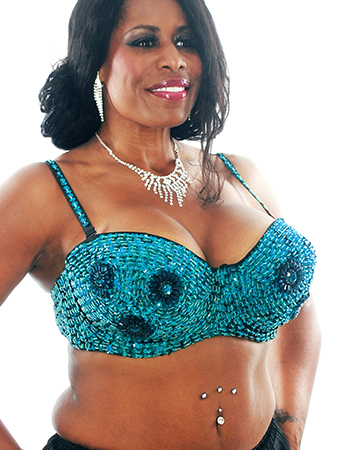 Plus Size Sequin Bra with Beaded Floral Design - TURQUOISE 38J