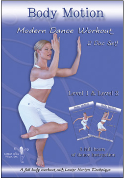 Body Motion: Modern Dance Workout (2-Disc Set) - DVD