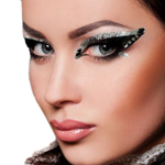 Xotic Eyes Deluxe Stage Makeup Kit - STORMY