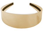 Jasmine Costume Satin Head Band - GOLD