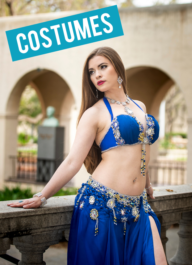 Belle Dancer Bra Black Silver Arabian Harem Girl Belly Halloween Adult Costume