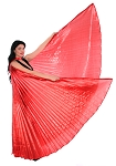 Isis Wings Belly Dance Costume Prop - RED
