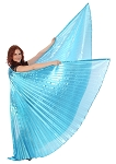 Isis Wings Belly Dance Costume Prop - TURQUOISE