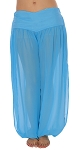 Belly Dancer Harem Pants - BLUE TURQUOISE