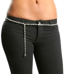 Rhinestone Belly Chain Belt