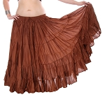 25 Yard Tribal Gypsy Skirt - COPPER