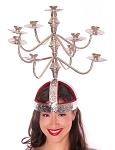 Shamadan / Candelabra for Egyptian Dance - SILVER
