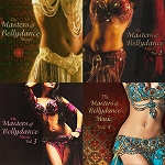 Masters of Belly Dance Music 4-CD SET