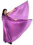 Isis Wings Belly Dance Costume Prop - PURPLE