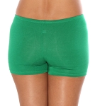 Boyshort Dance Undergarment Costume Shorts - GREEN