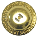 SAROYAN Minizills (Finger Cymbals) - SET OF 4 - BRASS