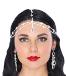 Princess of Arabia Rhinestone Teardrop Headpiece
