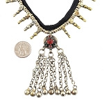Afghani Tribal Kuchi Choker Necklace with Pendants - ASSORTED