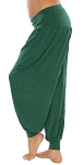 Comfy Stretch Harem Pants - JADE GREEN