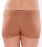 Boyshort Dance Undergarment Costume Shorts - MEDIUM NUDE