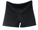 Kids Size Comfortable Stretchy Dance Shorts - BLACK
