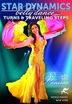Star Dynamics - Belly Dance Turns and Traveling Steps with Vanessa of Cairo - DVD