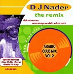 DJ Nader - Remix: Arabic Club Mix Vol. 2 - CD