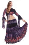 Gypsy Tribal Skirt and Choli Set - ANDROMEDA