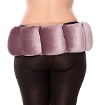 Velvet Weighted Hip Belt - SMOKEY MAUVE