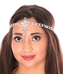 Lotus Rhinestone Headband