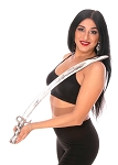 Ornate Balancing Scimitar Belly Dance Sword - SILVER