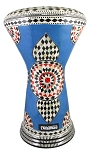 Doumbek/Darbuka (Egyptian Tabla) with Mother of Pearl Mosaic Inlays - AJAMI