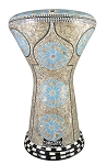 Doumbek/Darbuka (Egyptian Tabla) with Mother of Pearl Mosaic Inlays - BASSAL