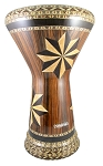 Sombaty Doumbek/Darbuka (Egyptian Tabla) with Mosaic Wood Veneer Inlays - AL ZAHRA