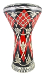 Pro Series Doumbek/Darbuka (Egyptian Tabla) with Mother of Pearl Mosaic Inlays - ZUHUR AL NIL