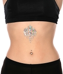AB Rhinestone Body Bindi