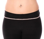 Iridescent Rhinestone Belly Chain / Belt