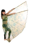 Isis Wings Belly Dance Costume Prop - PEACOCK
