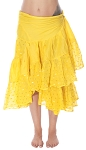10 Yard Ashwarya Wrap Skirt - YELLOW