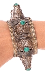 Afghani Kuchi Spike Tribal Cuff Bracelet - ASSORTED COLORS