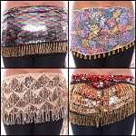 Egyptian Paillette Hip Scarf - One of a Kind - Limited Edition