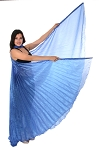Egyptian Organza Isis Wings - SAPPHIRE BLUE