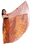 Egyptian Organza Isis Wings - COPPER
