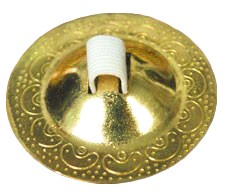 Belly Dance Finger Cymbals / Zills - GOLD