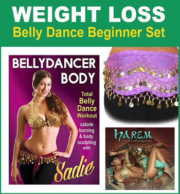 Weight Loss Belly Dance Beginner Set