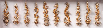 Bindi - 10 Assorted Shapes - GOLD