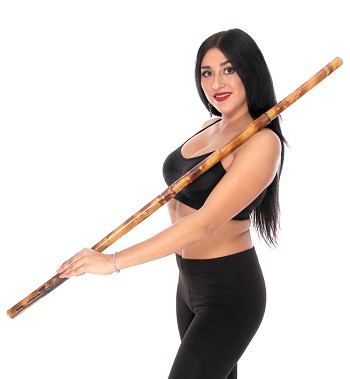 Large Saidi Tahtib Stick - Thick Assaya for Bellydance or Middle Eastern Dance