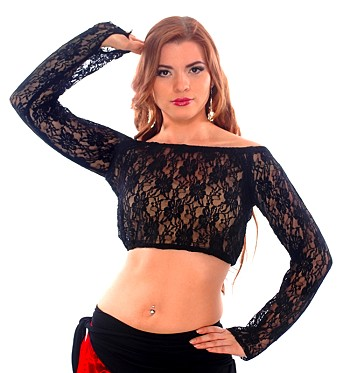 All Lace Choli Top