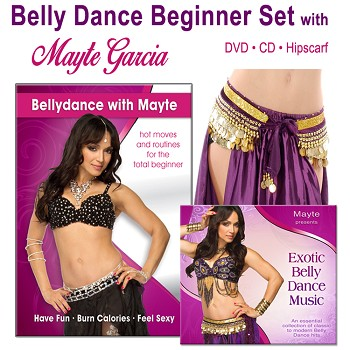 Bellydance with Mayte Beginner's Set