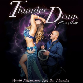 Thunder Drum with Jillina and Ozzy – CD