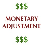 Monetary Adjustment