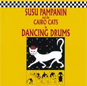 Dancing Drums - Susu Pampanin & the Cairo Cats - CD