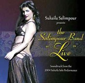 Suhaila presents Salimpour Band Live - CD